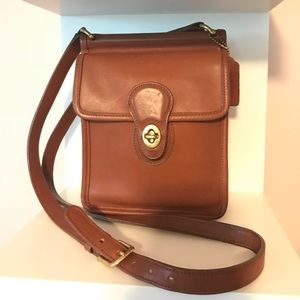 Vintage COACH Murphy Turnlock Crossbody Bag